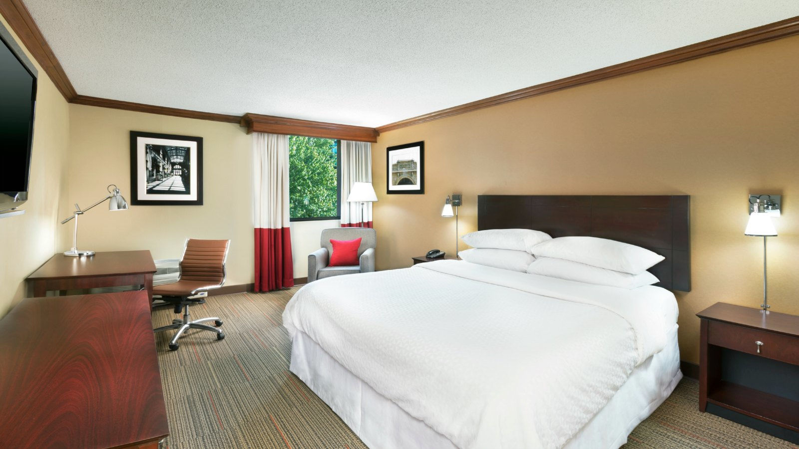 Downtown Asheville Accommodations - King Guest Room